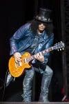Slash with guitar