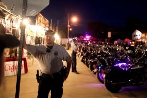 Two biker gang members stabbed in downtown Sturgis, see video