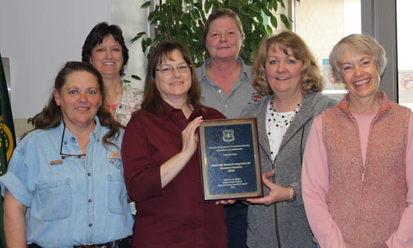 pride receives national usfs award chadron