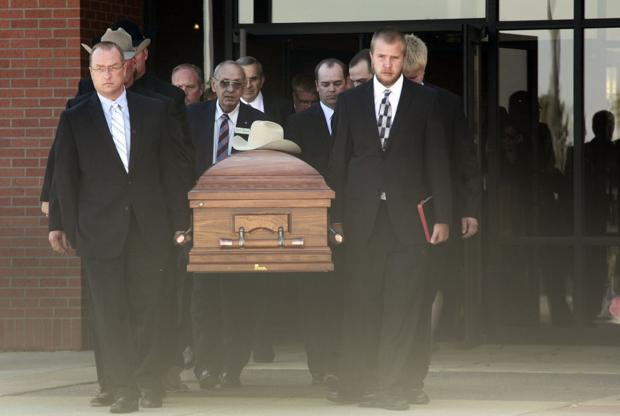 Family, friends, colleagues say goodbye to Walter Dale Miller