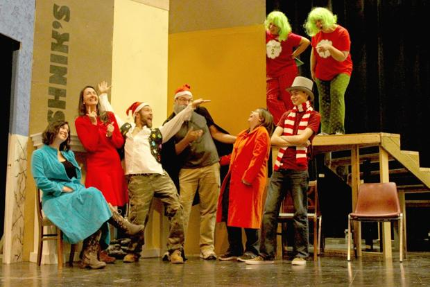 """""""A Seussified Christmas Carol"""" cast works to bring holiday cheer to Belle Fourche"""