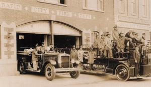 Firehouse building turns 100