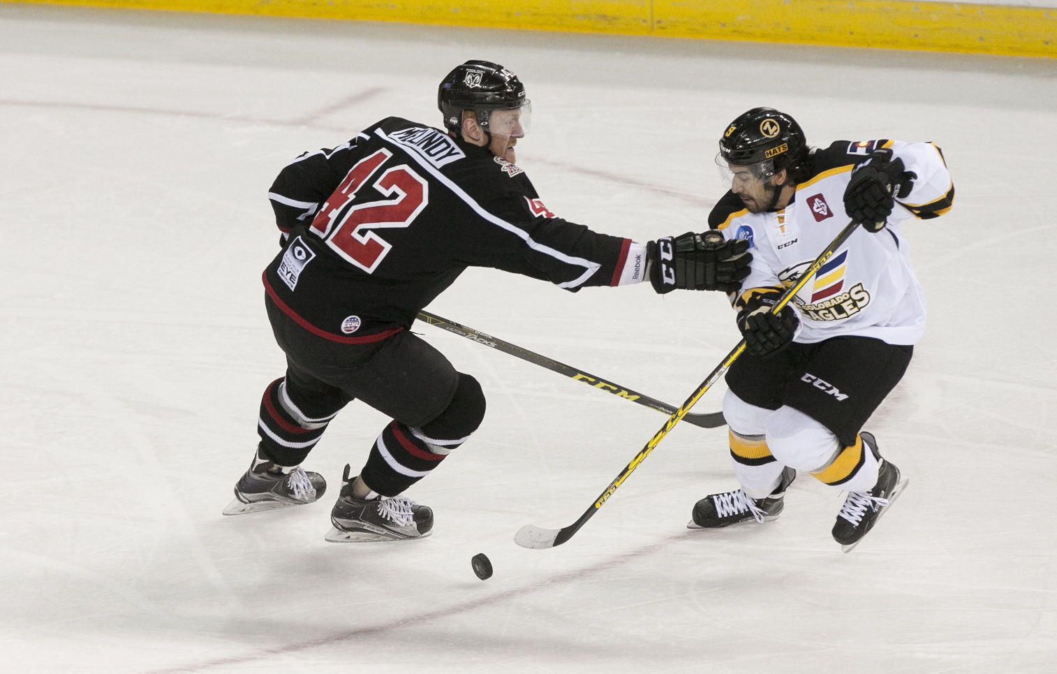 ECHL: Eagles Dominate Rush In All Phases Of The Game
