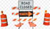 CPD: Don't drive around road construction and maintenance signs