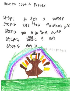 How to Cook a Turkey- Corral Drive Elementary