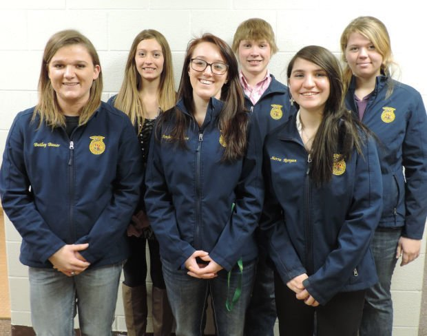 FFA Week, Newell chapter officers are profiled