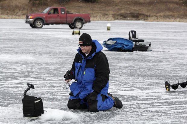 The ice fishing derby at sheridan lake for Ice fishing derby