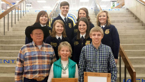 Newell's Swan family named FFA Family of the Year