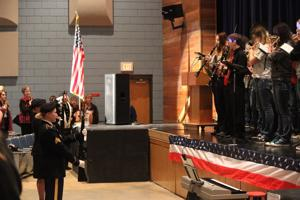 Belle Fourche High School honors the noble and the brave at Veterans Day program