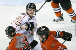 CHL: Rush, Komet series figures to test each side's patience