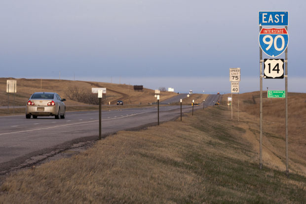 State likely to revert to 75 mph on Rapid City-Wyoming stretch of I-90