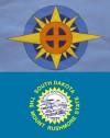 South Dakota state flags
