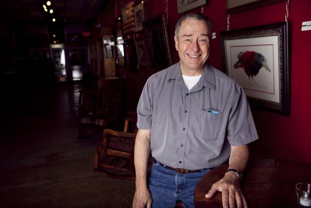 The past is his passion: Patrick Roseland hopes to open a museum to display his historic photos of Rapid City