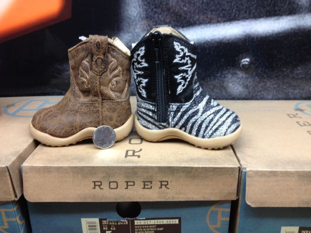 For sale at the show: baby cowboy boots | Local | rapidcityjournal.com