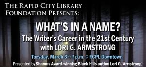 Library Foundation's Speaker Series presents Lori Armstrong