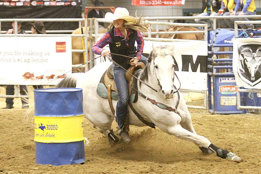 steffes honored as barrel racing national champion