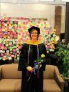 Audrey Bickerdyke receives doctorate