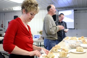 Congregation gathers at Hermosa fairgrounds, punctuated by pastry