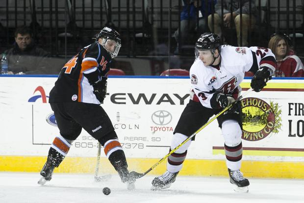 ECHL: Rapid City Wins Third Straight, Stopping Missouri In Overtime