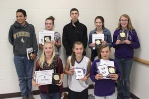 Bronc cross country award night