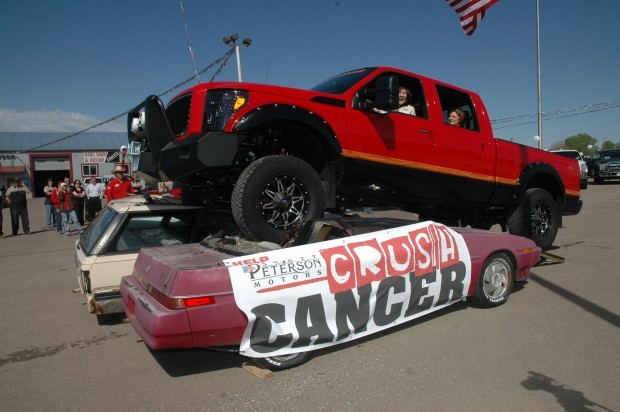 Crush cancer campaign begins fourth year belle fourche for Scott peterson motors belle fourche sd