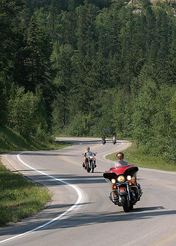 Scenic Motorcycle Rides Sturgis Rally Daily