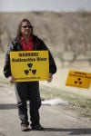 Rally-goers demand clean-up of uranium mines