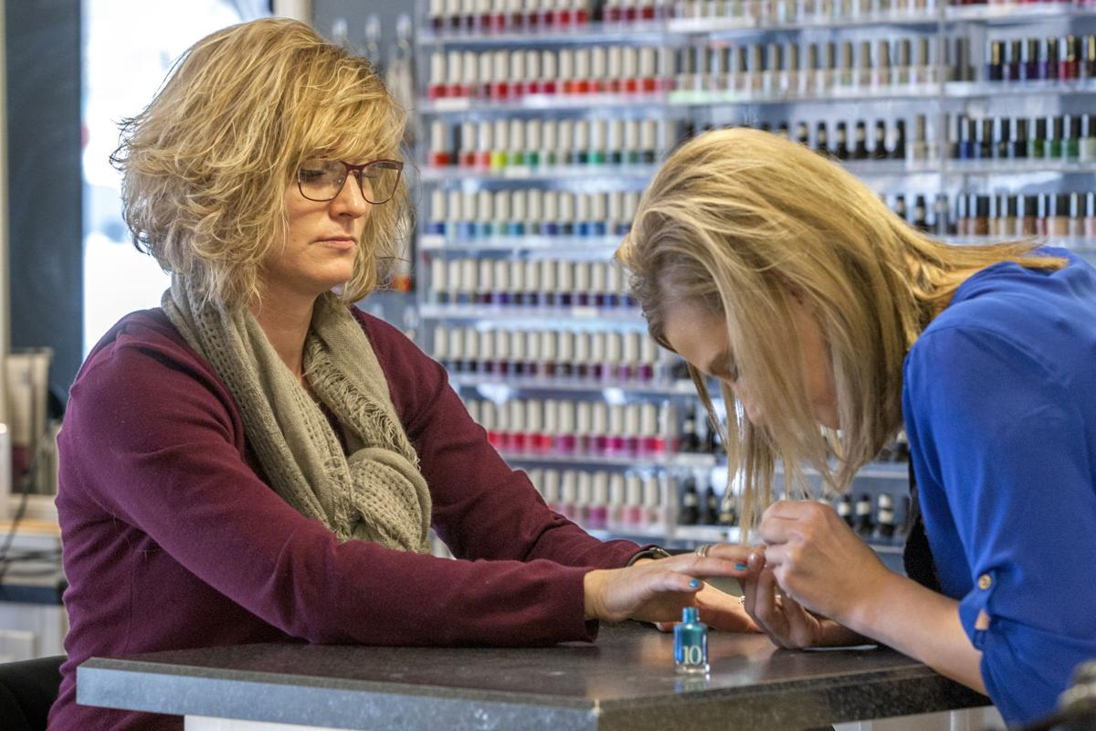 Salon markets own line of nail polishes for a cause for A perfect 10 nail salon rapid city