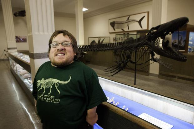 Plesiosaur stomach stone found during Mines student's field project