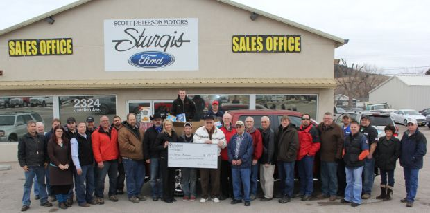 Sturgis Food Bank Benefits From Peterson Drive Sturgis