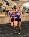Three BFHS girls relay teams qualify for State A meet