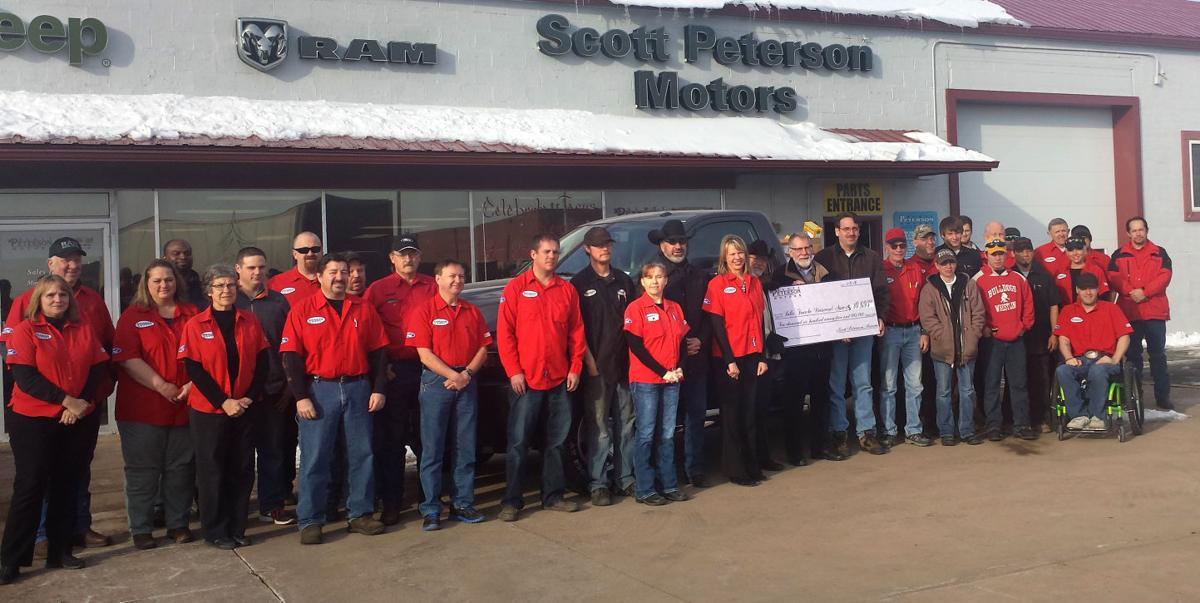 Scott peterson motors surpasses goal during seventh annual for Scott peterson motors belle fourche