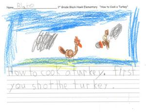How to Cook a Turkey - Black Hawk Elementary