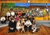 Victor students paint mural
