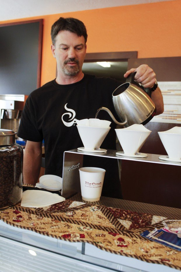 Brewing up some business Big Creek Coffee Roasters opening new shop in downtown Hamilton