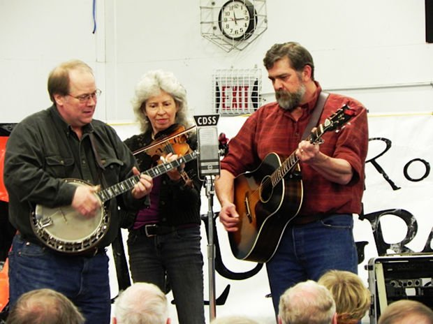 Montana Rockies Bluegrass at Lone Rock School