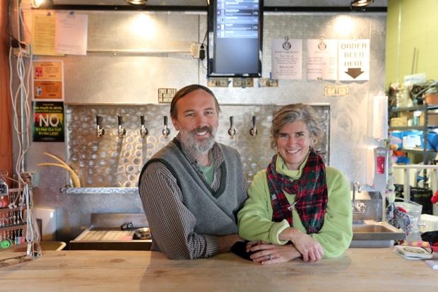 Starting over Couple opens nano-brewery, finds joy in new simpler small town life