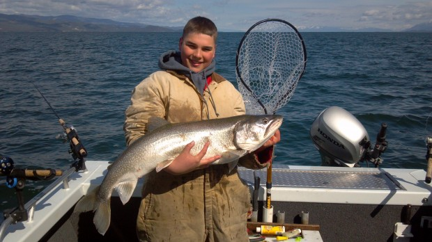 Florence student wins youth division of flathead lake for Flathead lake montana fishing