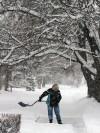 Winter weather drops heavy snow on Bitterroot Valley