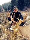 Huge whitetail tested bowhunter's mettle