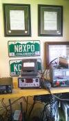 Amateur radio operators preparing for weekend event