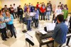 Hitting a high note Classes move into Stevensville School District's new music center