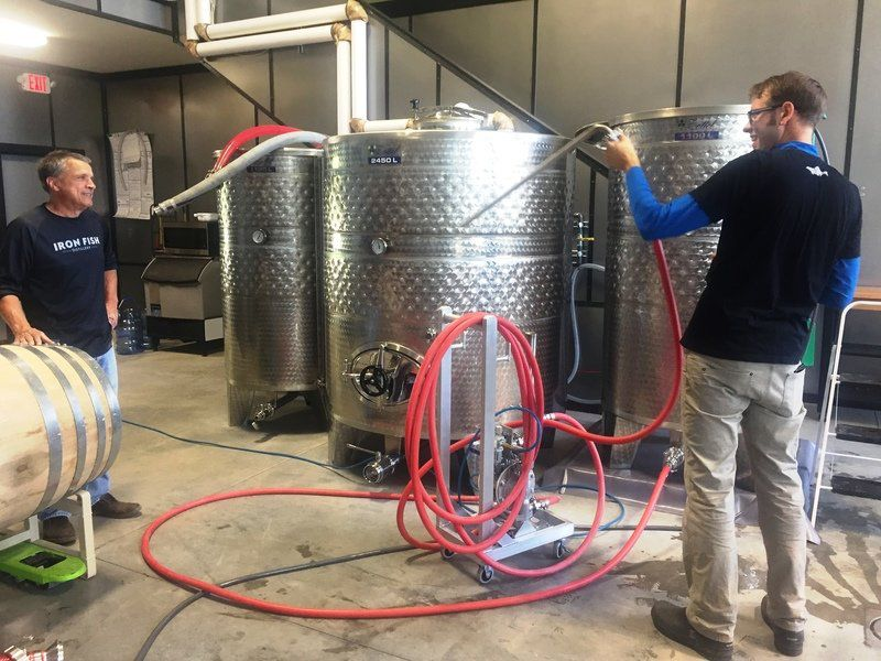 Iron fish distillery opens for business the biz record for Iron fish distillery
