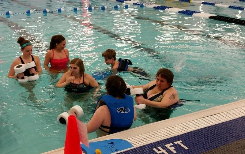 Adaptive sports offer more options local news record - Can pregnant women swim in public pools ...
