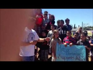 Hoffer Elementary ALS ice bucket challenge