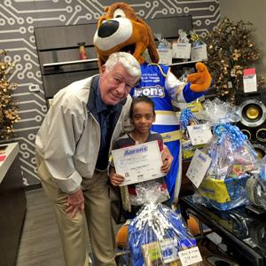 Aaron's Furniture Store announces winners of annual