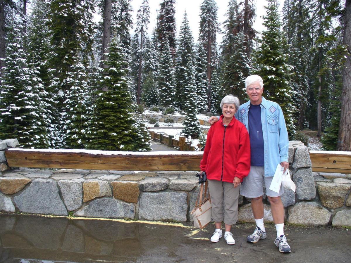 Travel writers Kay and David Scott