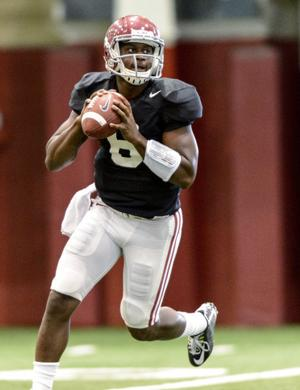 WVU prepping for two 'Bama QBs