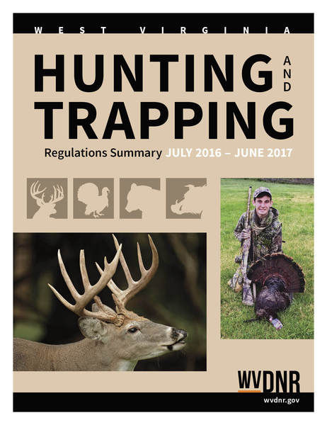 Dnr booklet details changes in fall hunting seasons for West virginia out of state fishing license
