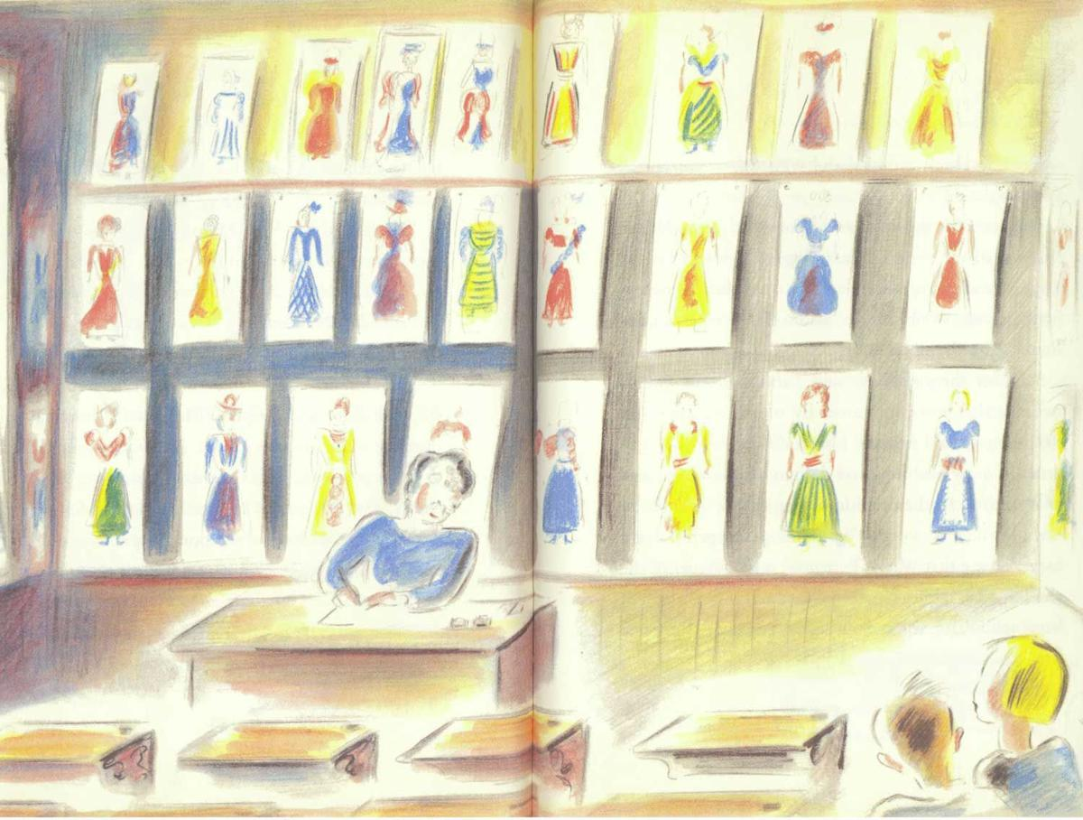 Children S Book Review The Hundred Dresses Columns